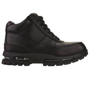 NIKE Air Max Goadome ACG boots black leather 10.5